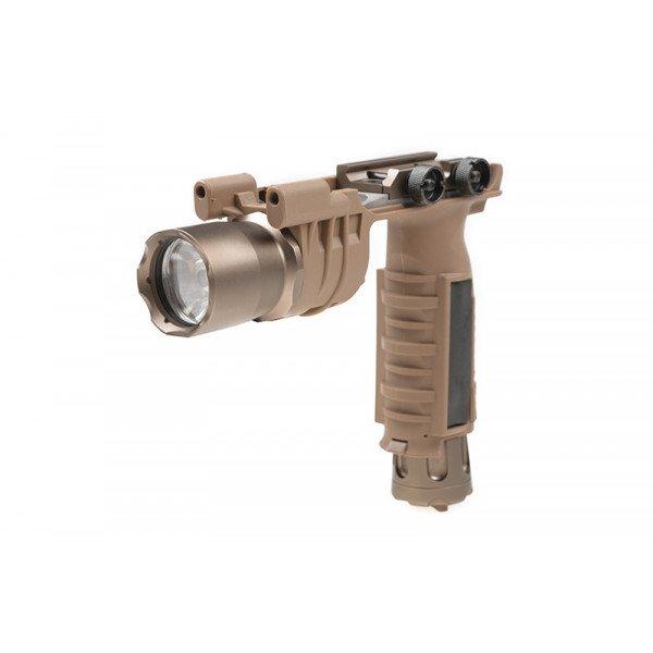 Element M910A Tactical Flashlight (Grip with Flashlight) - Dark Earth