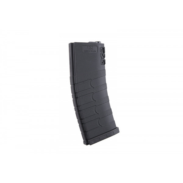 G&G 120rd магазин Mid-cap magazine for M4/M16  - black