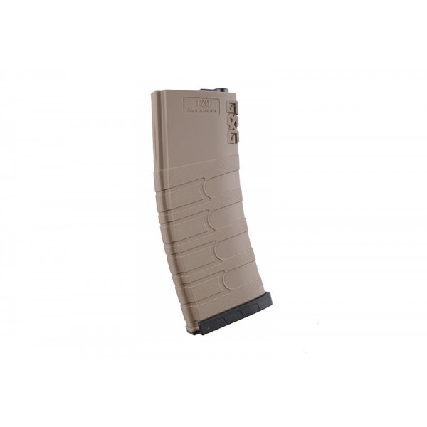 G&G 120rd Магазин Mid-cap magazine for M4/M16 Tan