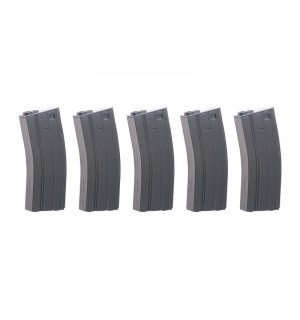 [SPECNA ARMS] Real-Cap 30 BB M4/M16 Magazine - Grey 5шт.