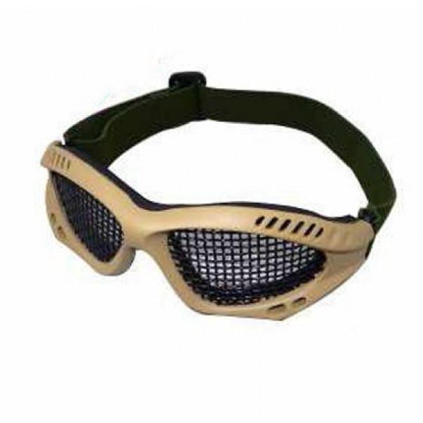 Тактические очки с сеткой для защиты глаз койот