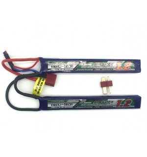 Turnigy NANO-TECH 7.4V 1200mAh 25-50C Universal 1+1