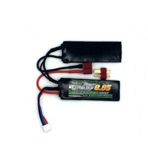 Turnigy NANO-TECH 7.4V 950mAh 25-50C Universal 1+1